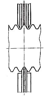 Závitové třmenové kalibry, schéma